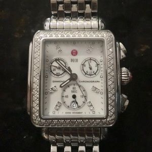Michelle Deco Diamond Mother of Pearl Watch